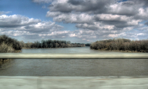bridge blue trees ohio sky water clouds river highway driving view toledo expressway i75 hdr maumee perrysburg 475 lucascounty grandamasfuneral