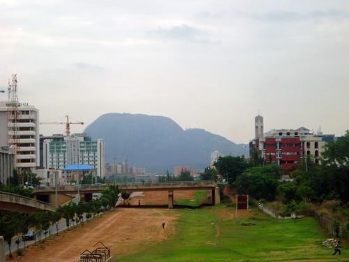 Vista de Abuja, Nigéria