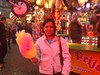 I love candy floss