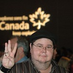 Famous Canadian Rap Star shares 3 finger Sustainability Symbol \!/_0345