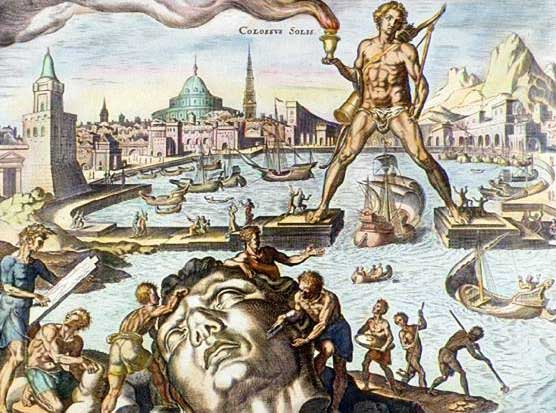 Colossus of Rhodes, by Martin Heemskerck.