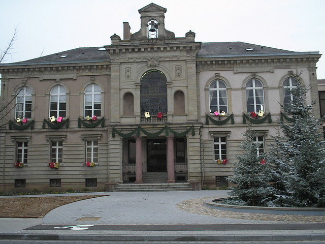 Illkirch-Graffenstaden France  City pictures : City hall of Illkirch Graffenstaden, Strasbourg, France | Flickr ...