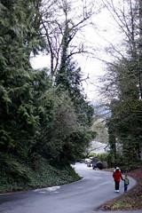 rachel and nick walking up cornell street    MG 9359