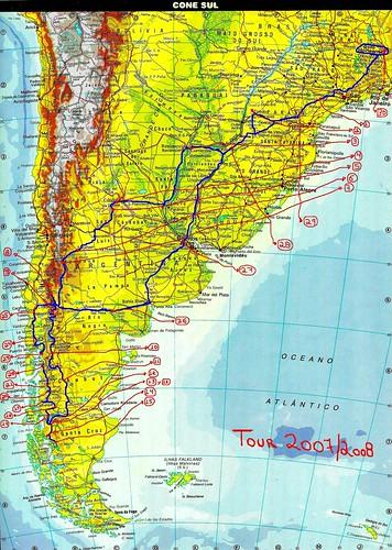 SOUTH AMERICA AMERICA DEL SUR AMÉRICA DO SUL Mapa Map - Mapa de sur america