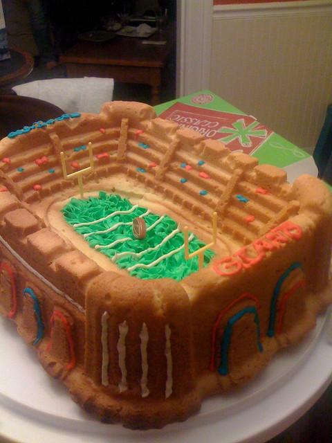 Super Bowl Cake Balls