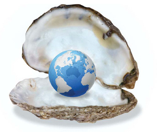 the world is your oyster When we say the world is your oyster we mean that you are able to make the most out of life you take every chance given to you and put it to good use.