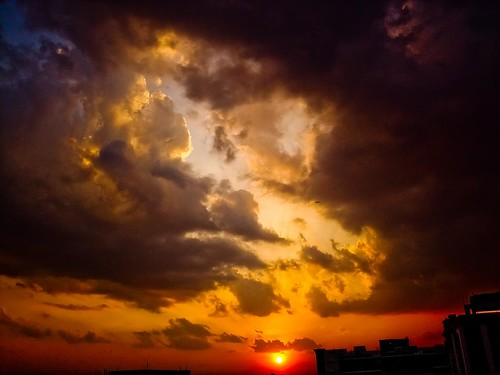 cameraphone sunset sky clouds hyderabad lightroom anawesomeshot imobile902 diamondclassphotographer flickrdiamond