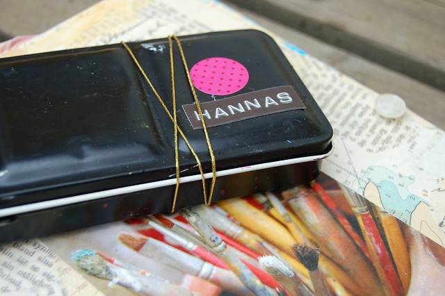 iHanna's old and worn Watercolor Paint box