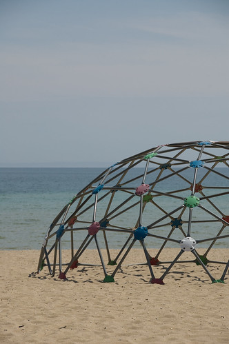 pink blue red orange white green playground metal sand bars jungle dome gym beaverisland