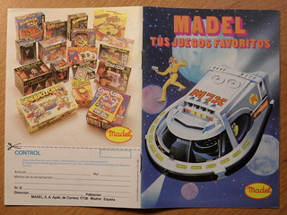 1982 Madelman Catalogue Cover