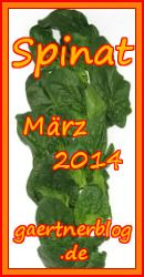 Garten-Koch-Event März 2014: Spinat [31.03.2014]
