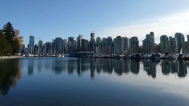 [VaNCouVeR DownTOWn FrOM StANLey PARk]