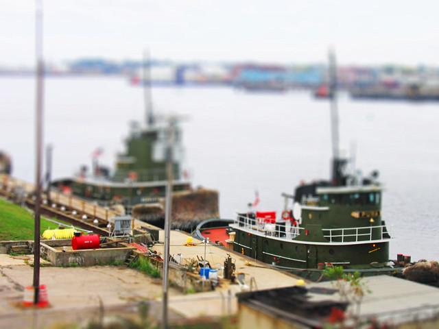 Providence Tugs (TiltShift Fake)