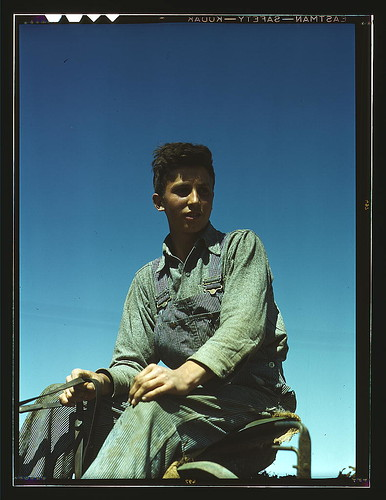 Portrait of a farm boy  (LOC)