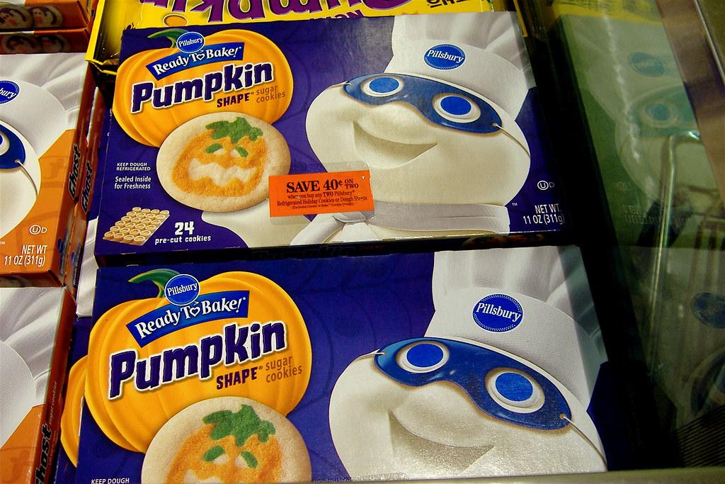 pillsbury ready to bake halloween cookies