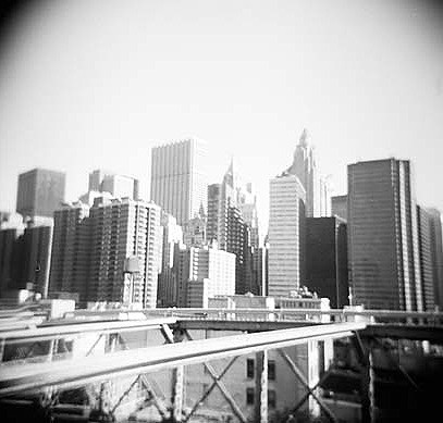 crossing the bridge - new york
