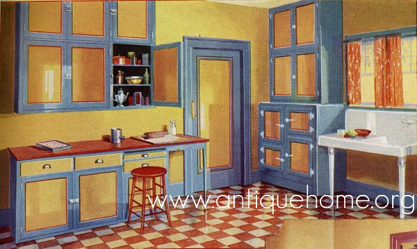 1930 kitchen flickr photo sharing for 1930s home design ideas