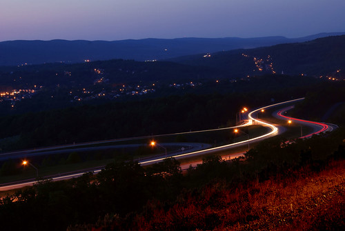 6 mountains landscape photography highway long exposure traffic sony headlights route pa valley series 300 alpha dslr 2008 northeast lackawanna nepa a300 α dslra300 α300 dslra300k αlpha dslrα300 dslrα300k