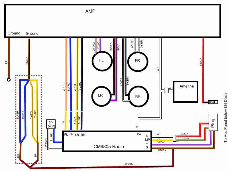 E30 Alarm Wiring Diagram : Bmw i radio wiring diagram as well e free