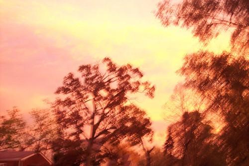 sky outside traveling