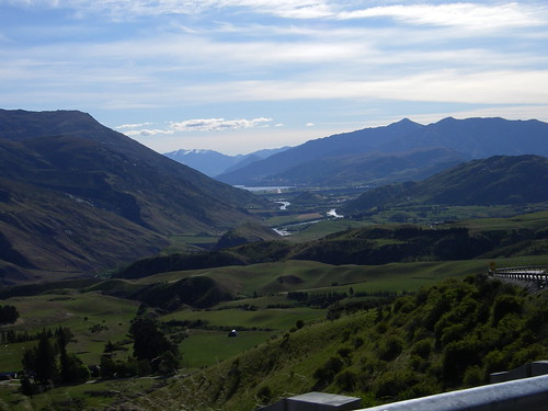 From Crown Terrace towards Lake Wakatipu