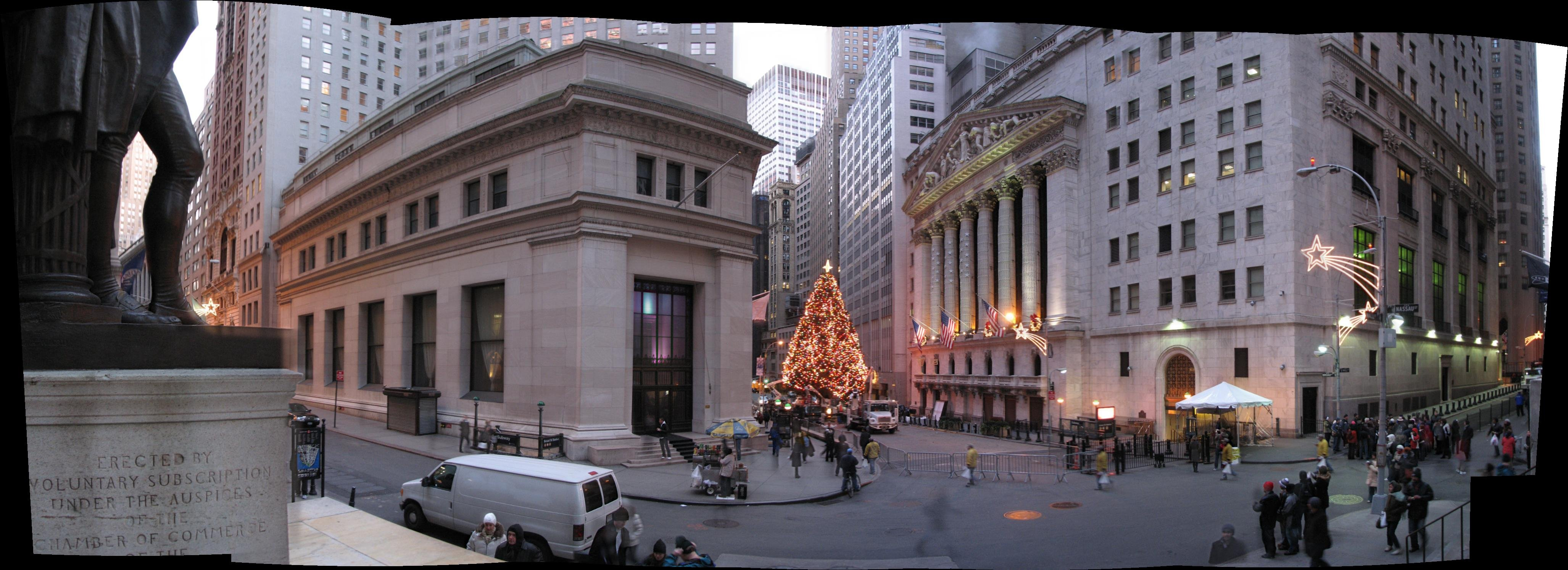 Another Wall Street Historic District Panorama Flickr