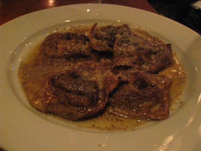 Chestnut Ravioli With Sage Browned Butter Recipe — Dishmaps