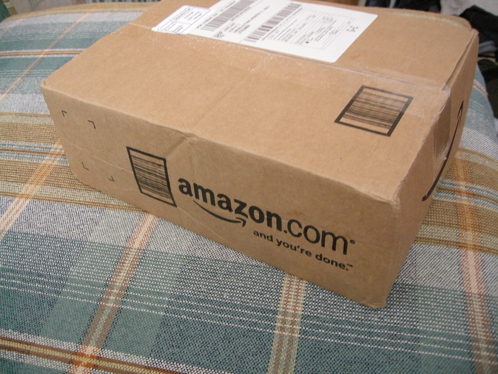 Photo of box from Amazon