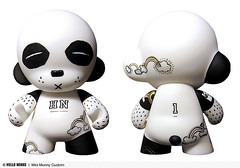 My panda - Mini Munny custom DIY 4"