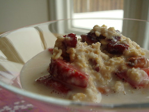 Fresh Muesli On A Rainy Morning