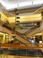 Overland Park, KS Metcalf South Shopping Center (a dead mall) escalators