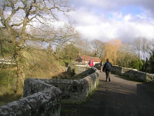 On Stopham Bridge