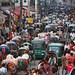Old Dhaka traffic - Dhaka by Maciej Dakowicz