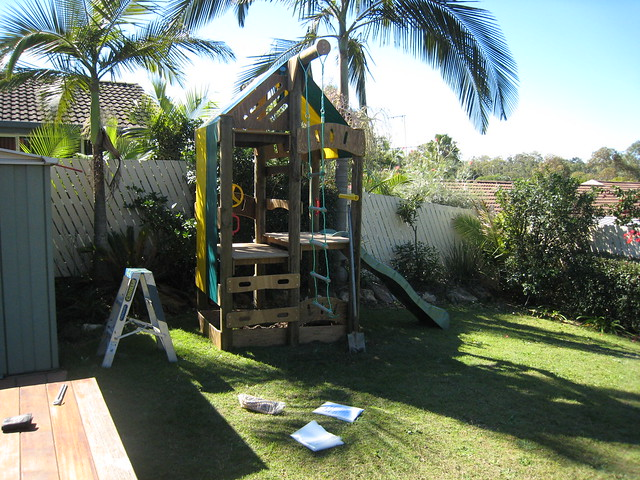 backyard fort for kids flickr photo sharing