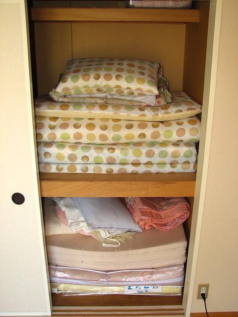 Futon closet
