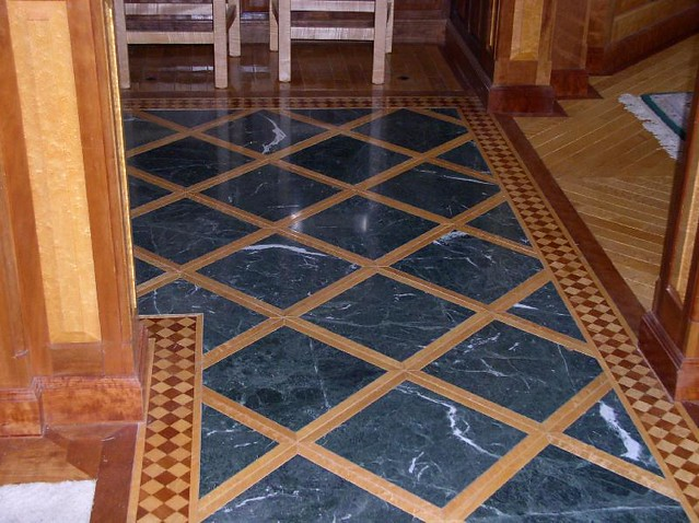 Blue Marble Floor | Flickr - Photo Sharing!