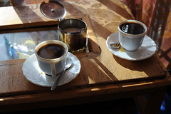 meal(0.0), espresso(1.0), cup(1.0), cup(1.0), coffee(1.0), coffee cup(1.0), turkish coffee(1.0), caff㨠americano(1.0), drink(1.0), caffeine(1.0),