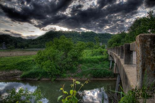Water, Road! Bridge! Clouds...