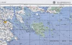 Bản đồ Ile aux Buissons và Hòn Gai
