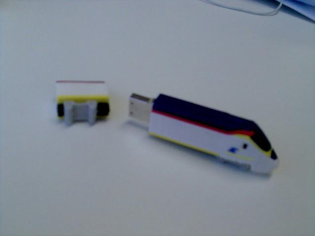 Cute Eurostar USB stick | Flickr - Photo Sharing!