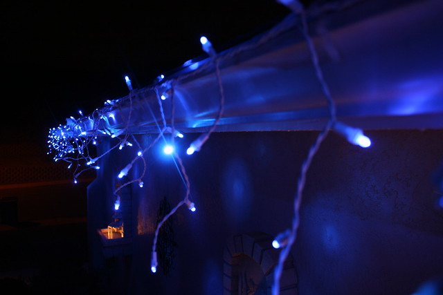twinkling led icicle christmas lights by philips flickr photo. Black Bedroom Furniture Sets. Home Design Ideas
