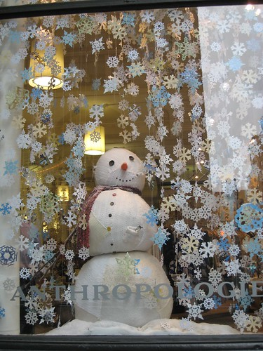 Anthropologie Snowman