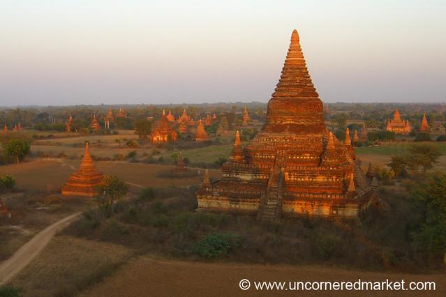 Bagan Temple Vistas - Myanmar