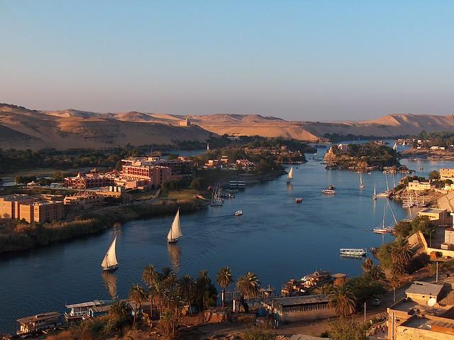Ägypten - Nillandschaft