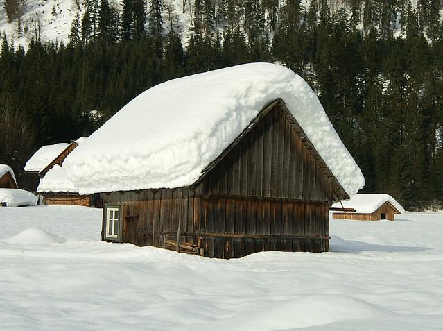 Alpine hut * Домик в альпах * Hütte in Österreich