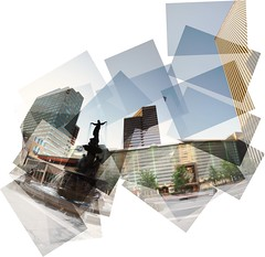 Fountain Square Panography Daytime
