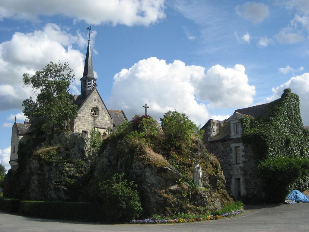 la chapelle de Béhuard