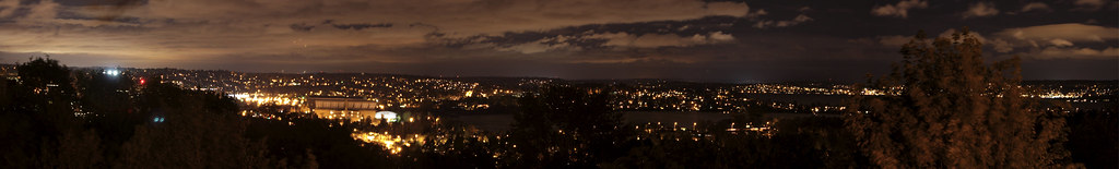 Louisa Boren Park Night View