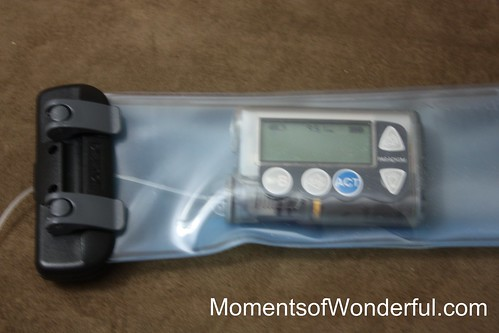 Aquapac waterproof case for my insulin pump