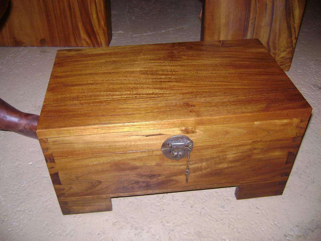 Teak Box